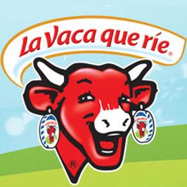 Logotipo La vaca que ríe